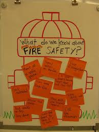 first grade garden fire safety week