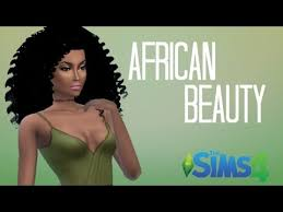 sims 4 blvcklifesimz hair the sims 4 create a sim african beauty youtube