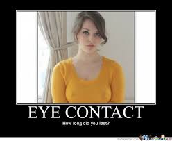 Eye Contact Meme - eye contact by zetron x meme center