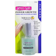 nutra nail mineral collection power growth longer nails 45 fl