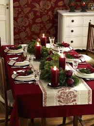 nice christmas table decorations christmas table ideas khoado co