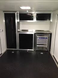 V Nose Enclosed Trailer Cabinets by Bright Ideas Enclosed Trailer Cabinets Fine Decoration Race