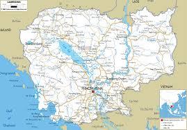 Travel Maps Cambodia Travel Maps U2013 World Map Weltkarte Peta Dunia Mapa Del
