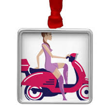 scooter ornaments keepsake ornaments zazzle