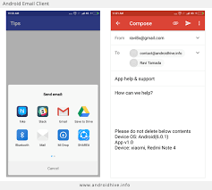 android mail client android launching email client app support using intents