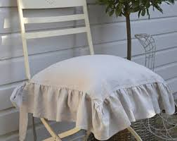 Ruffled Chair Covers Chair Covers Etsy