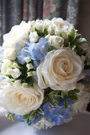 wedding flowers blue and white blue wedding bouquet flowers arley wedding white and blue