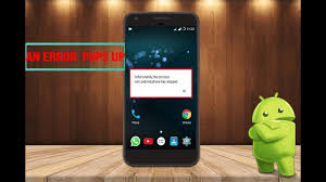 unfortunately the process android phone has stopped unfortunately the process android phone has stopped