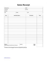 download itemized sales receipt template pdf rtf word