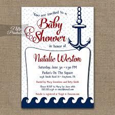 nautical baby shower invitations nautical baby shower invitation nautical nifty printables