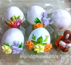 Decorating Easter Chocolate Eggs by How To Paint Candy Coated Chocolate Easter Eggs Ingrid Creates