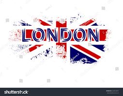 British Flag Shirts British Flag T Shirt Typography Graphics Stock Illustration