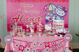 Hello Kitty Party U2013 Alana U0027s Birthday Party U2013 Sweets Delight
