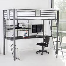 bedroom full size loft bed with desk and futon loft bed with