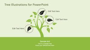 tree illustration diagrams for powerpoint slidemodel