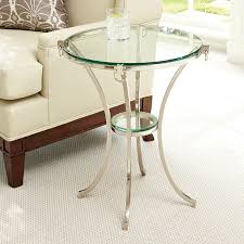 tree ring coffee table nickel plated ring side table mecox gardens