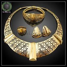 2018 18k gold plated jewelry set 21k gold set 24k gold dubai