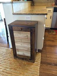 kitchen trash can ideas best 25 trash can kitchen ideas on wooden