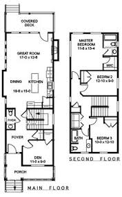narrow home floor plans narrow but large 2 storey home with 5 bedrooms plus a study and 3