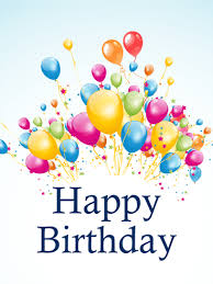 happy birthday balloon happy birthday balloon card birthday greeting cards by davia
