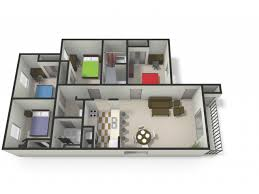 four bedroom townhomes 2 4 bed apartments the village at bluegrass