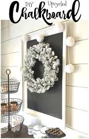 diy upcycled chalkboard chalkboards repurposed and diy ideas