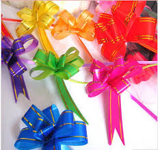 Gift Wrap Wholesale - wholesale 200pcs lot pull flower ribbon bow gift wrap candy box