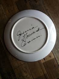 personalized serving platter ceramic personalized serving platter captains wheel howard ceramics