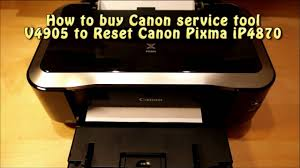 reset tool for canon ip4840 download reset canon ip4870 by canon service tool v4905 youtube