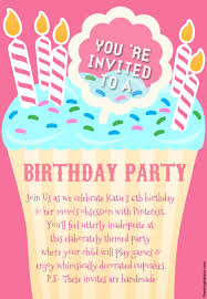 honest birthday party invitations