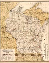 Pennsylvania Railroad Map by Map Of Wisconsin