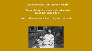 biography of john lennon in the beatles john lennon and the beatles life of john lennon john was born on