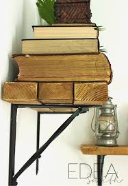 Diy Restoration Hardware Reclaimed Wood Shelf by Reclaimed Wood Shelves On Pinterest Wall Shelves For Books Diy