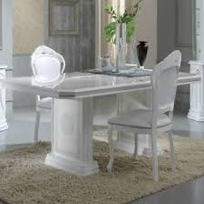 versace dining room table versace design white silver italian high gloss dining table 6