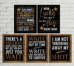 printable history quotes printable set of hamilton musical inspired quotes subway art