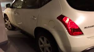 nissan murano 2004 youtube 2004 nissan murano 3ltr 4wd cream beige color leather seats for
