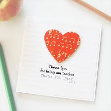 thank you cards for teachers personalised thank you card drama the card