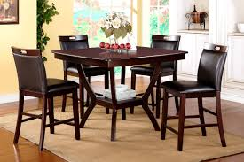 furniture compact dining table and chairs carla counter height 5