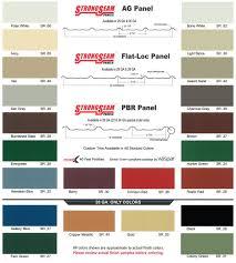 Valspar Colour Chart Colors D Cross Barn Co Pole Barns Tulsa