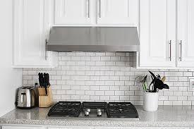 Kitchen Backsplash Idea Subway Tile Kitchen Backsplash How To Withheart Pertaining To
