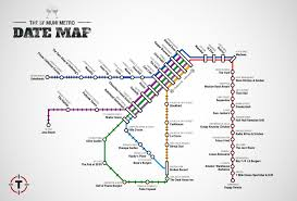 Muni San Francisco Map by Best Sf Date Ideas Near Every Muni Stop Thrillist