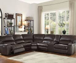 saul brown reclining sectional all american furniture buy 4