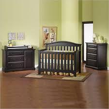 elegant and simple black nursery furniture editeestrela design