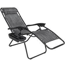 Indoor Zero Gravity Chair Set Of 2 Zero Gravity Chairs Heathered Gray U2013 Best Choice Products
