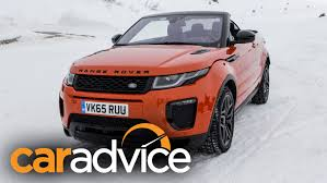 2017 Range Rover Evoque Convertible Review Youtube