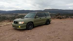 2017 subaru forester slammed 98 u002700 lowered 99 forester on gc struts extreme sag please