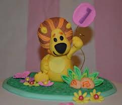 lion cake topper raa raa the noisy lion cake topper cakecentral