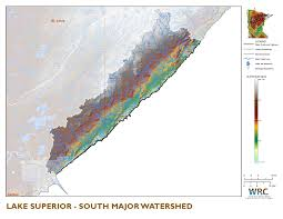 Map Of Lake Superior Lake Superior Watershed South Minnesota Nutrient Data Portal