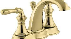 kohler bathroom faucets polished brass beautiful kohler polished brass bathroom faucets attractive faucet com k 393 n4 pb in