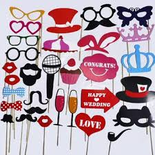 photo booth props for sale hot sale christmas wedding party photo booth props with sticks